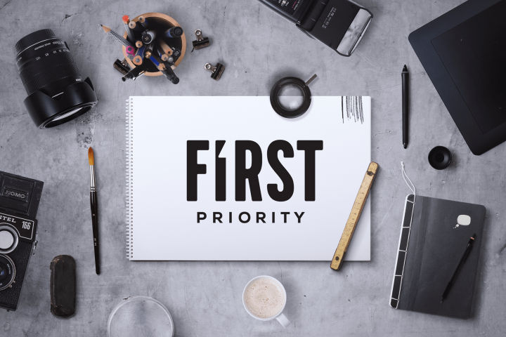 First Priority – Logo design