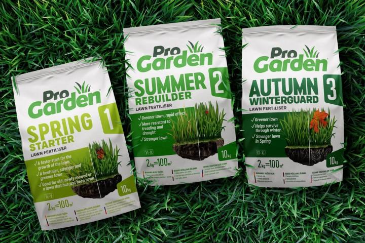 ProGarden Fertilizers – Naming, Logo & Packaging